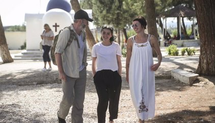 Actores de 'Juego de Tronos' visitan Lesbos para concienciar sobre la crisis migratoria