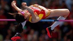 Ruth Beitia, campiona d'Europa en salt d'altura per tercera vegada consecutiva (ATLETISMO )
