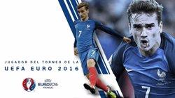Antoine Griezmann, nomenat Jugador del Torneig pels observadors de la UEFA (UEFA)