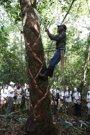 Foto: Los expedicionarios de la Ruta BBVA descubren el origen del chicle y hacen su propia goma de mascar