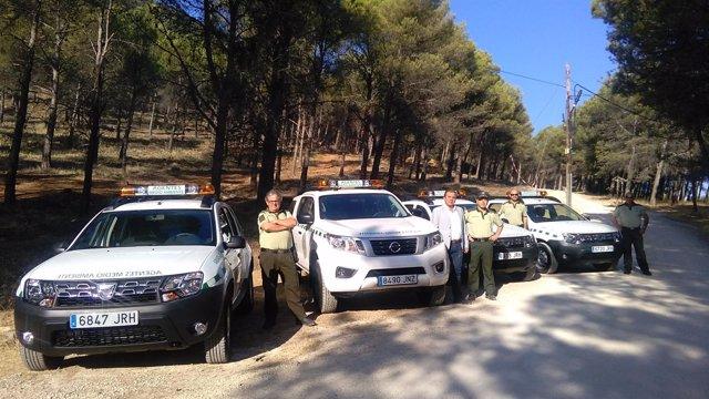 Cuatro nuevos vehículos para los Agentes de Medio Ambiente de Jaén
