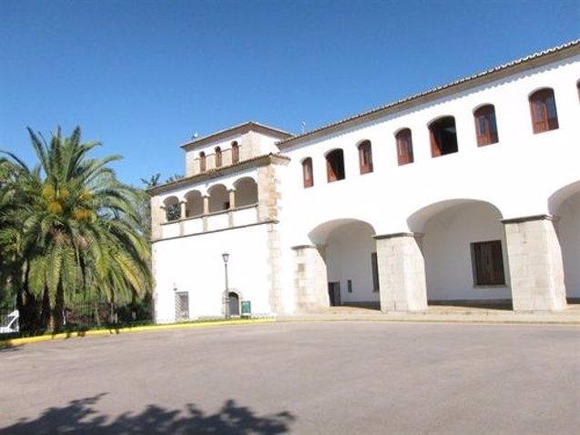 Foto: El complejo cultural San Francisco de Cáceres será escenario del rodaje de la serie americana 'Still Star-Crossed' (EUROPA PRESS)