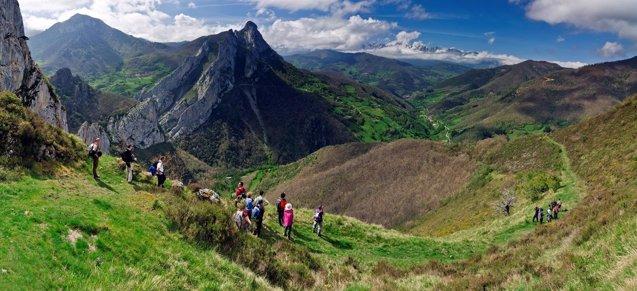 Foto: Aumentan las visitas a los espacios naturales protegidos de Cantabria  (JAVIER MAZA/RED DE DESARROLLO RURAL)