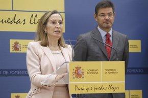 Foto: Catalá asume las funciones de ministro de Fomento para que Pastor presida el Congreso (EUROPA PRESS)