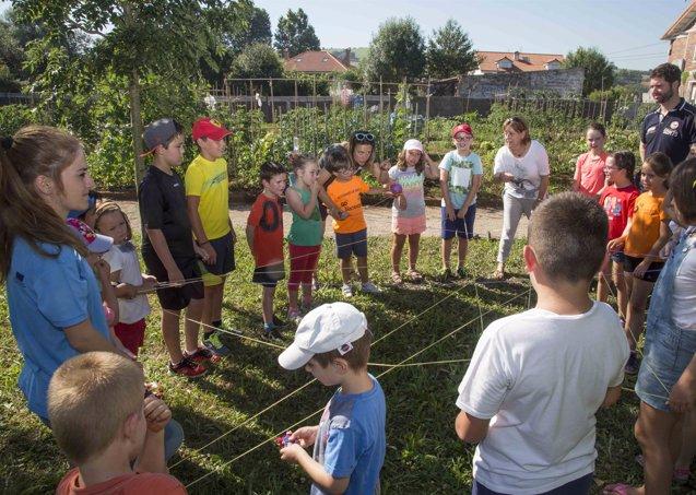 Foto: 50 niños aprenden prácticas sostenibles en el programa 'Abierto en las Huertas' (AYTO CAMARGO)