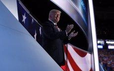 Trump apel·la a la llei i l'ordre en el seu discurs de nominació (MARK KAUZLARICH/REUTERS)