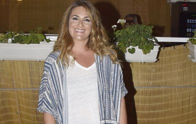La sonrisa de Carlota Corredera en la celebración de su 42 cumpleaños