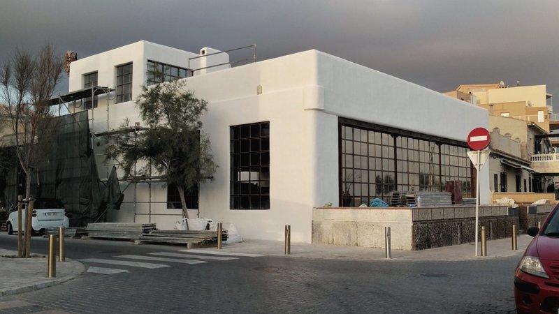 Piden parar las obras ilegales en el antiguo restaurante S'Eixerit