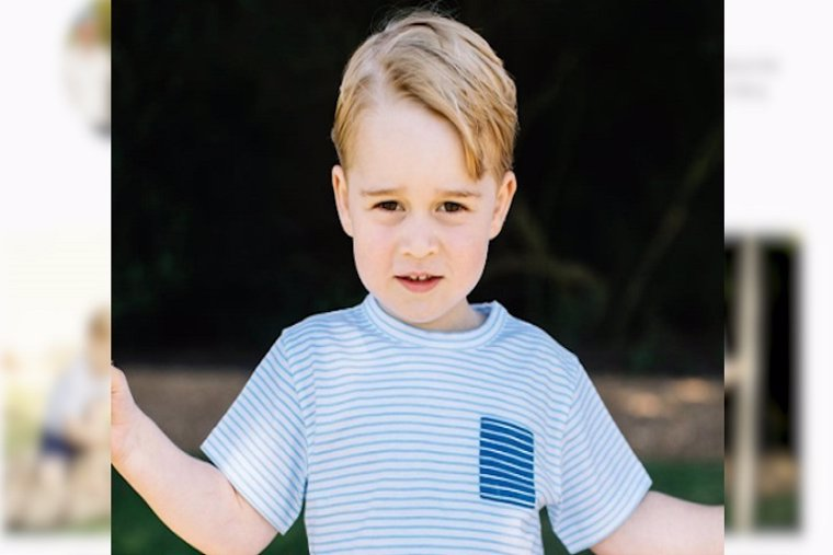 El príncipe George cumple 3 años