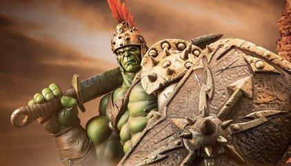 Comic-Con 2016: Primer vistazo a la armadura de Hulk en Thor Ragnarok