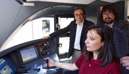 Inaugurats dos nous trens de la línia de la Pobla de Segur (Lleida)