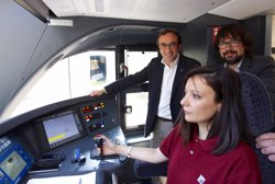 Inaugurats dos nous trens de la línia de la Pobla de Segur (Lleida) (GENERALITAT DE CATALUNYA)