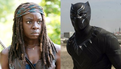 Black Panther: La estrella de The Walking Dead Danai Gurira se une al Universo Cinematográfico de Marvel