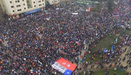 Las marchas contra las AFP congregan a miles de personas en Chile