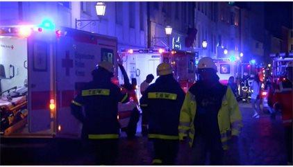 Al menos un muerto en una explosión en Ansbach, en el norte de Baviera (Alemania)