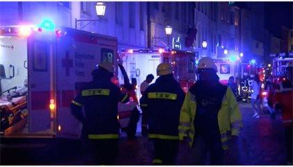 La alcaldesa de Ansbach confirma que la explosión ha sido intencionada y no una explosión de gas accidental
