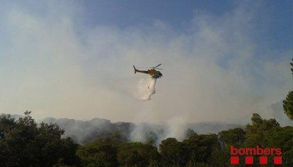 """L'alcalde de Blanes diu que l'incendi té l'origen en """"un problema humà"""""""