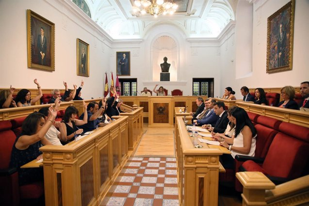 Foto: Aprobadas por unanimidad 31 mociones en el Debate del Estado de Toledo (EUROPA PRESS/AY TOLEDO)