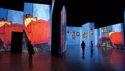 Van Gogh, más real que nunca, llega a Bogotá