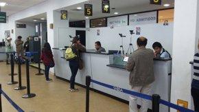 Foto: Migración de Bolivia no permite la entrada a 19 haitianos al país (TWITTER / @MIGRACION_BOL)