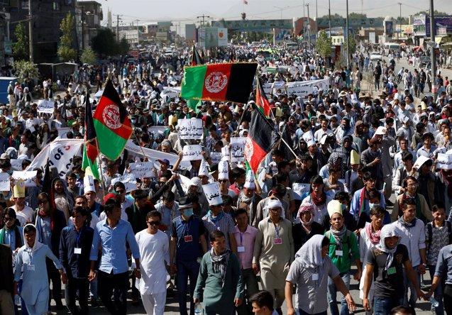 Foto: Las autoridades afganas prevén más ataques contra la minoría hazara en el país (OMAR SOBHANI / REUTERS)