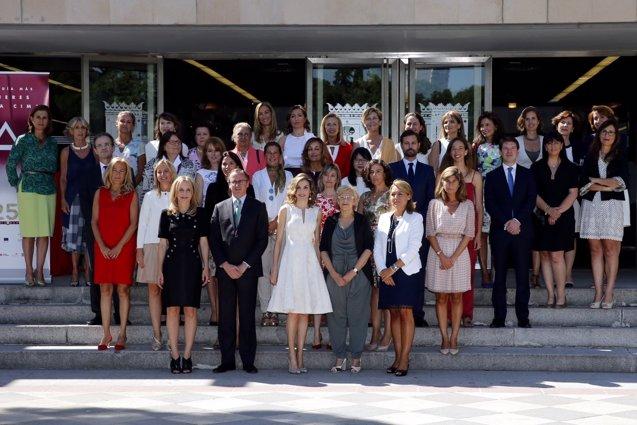 """Foto: La Reina, a favor de la conciliación: """"Llevamos siglos sin poder elegir"""" (CASA DE S.M. EL REY)"""