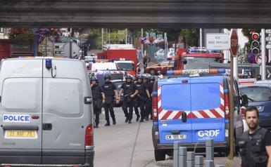 El segrest en una església de França se salda amb un ostatge mort i els autors abatuts (STRINGER/REUTERS)