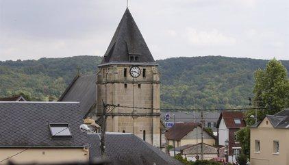 Los terroristas de la iglesia de Normandía grabaron el crimen en vídeo