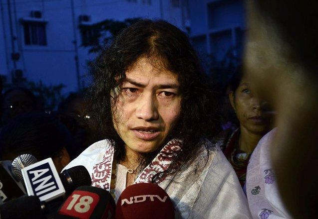 Foto: La activista india Irom Sharmila abandonará su huelga de hambre para competir en los comicios locales (REUTERS)