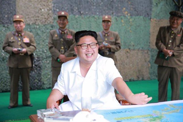 Foto: El régimen norcoreano responsabiliza a EEUU de futuros ensayos nucleares (KCNA/REUTERS)