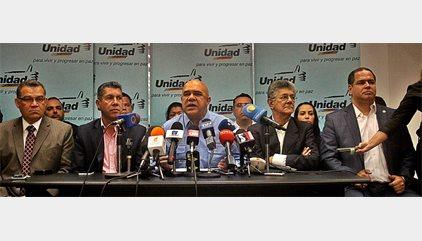 """La MUD ratifica su intención de convocar una """"movilización nacional"""" para impulsar el revocatorio"""