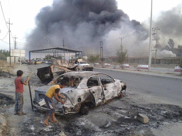 Foto: Más de 1.500 miembros de Estado Islámico huyen de la ciudad iraquí de Mosul (REUTERS)