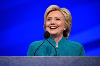 Els demòcrates nomenen Hillary Clinton la seva candidata a la Casa Blanca (DAVID BECKER/REUTERS)
