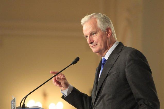 Foto: El excomisario Barnier, negociador de Bruselas para el 'Brexit' (EUROPA PRESS)