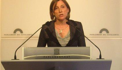 """Forcadell diu que el Ple és """"sobirà"""" per votar el procés constituent"""