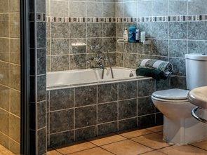 Moho en el baño, foco de hongos y bacterias (PIXABAY)