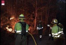 L'incendi d'Artana (Castelló) presenta un focus actiu en la part sud-oest (SIAB)