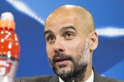 Guardiola desmenteix que hi hagi problemes de sobrepès al City (EUROPA PRESS)