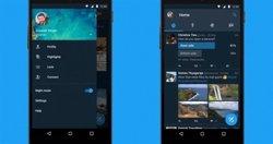 Twitter llança un 'mode nocturn' per reduir danys als ulls (EUROPA PRESS)