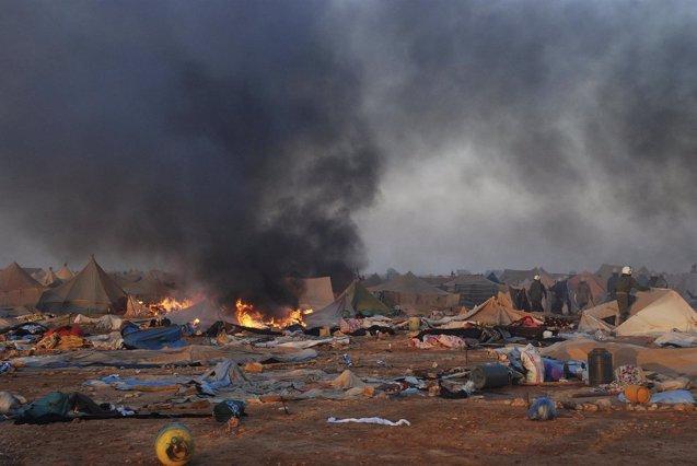 Foto: Marruecos repetirá el juicio a 24 civiles condenados tras el desalojo de Gdeim Izik (HO NEW / REUTERS)