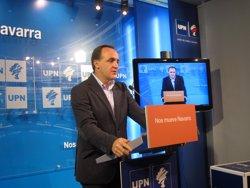 Esparza (UPN) crida els partits constitucionalistes a