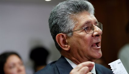 Venezuela.- Parlamentarios de la MUD piden a Ramos Allup que no participe en el diálogo hasta garantizar el revocatorio