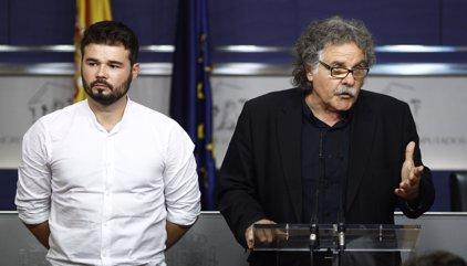 """ERC creu que la decisió del Parlament pot servir de """"catalitzador"""" perquè PP, PSOE i C's acostin postures"""