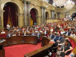 El Parlament admet a tràmit la primera llei de ruptura de JxSí i la CUP (EUROPA PRESS)