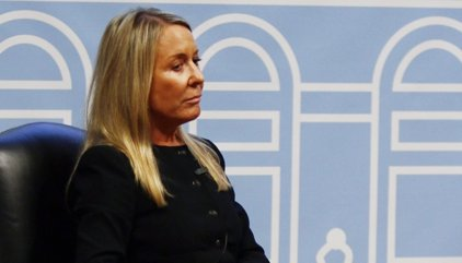 Marina Castaño y su paseíllo a los juzgados