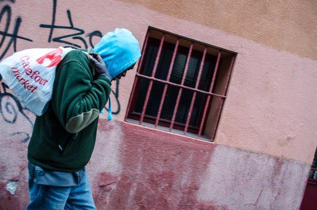 Foto: Organizaciones de Iglesia piden una ley contra la trata que aborde la mendicidad (EUROPA PRESS/JAVIER TORMO)
