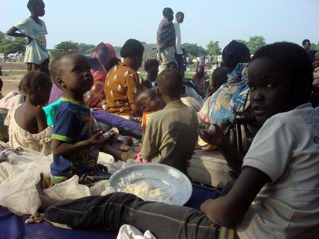 """Foto: ACH denuncia la """"falta de apoyos y fondos"""" para evitar la hambruna en Sudán del Sur (HANDOUT ./REUTERS)"""
