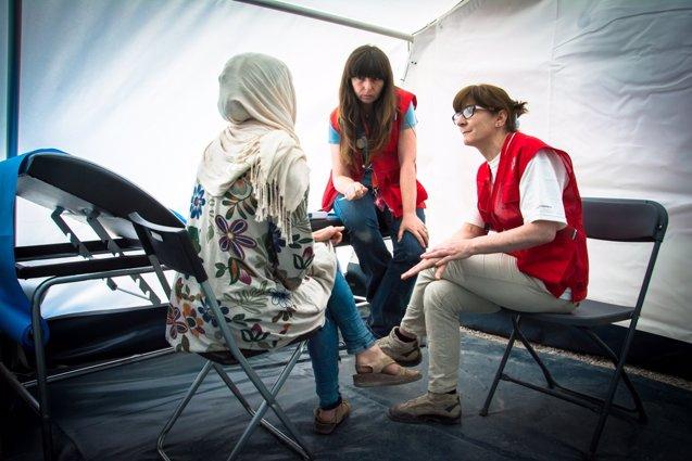 Foto: Cruz Roja aumentará a 1.200 sus plazas de acogida ante una nueva llegada de refugiados (CRUZ ROJA)
