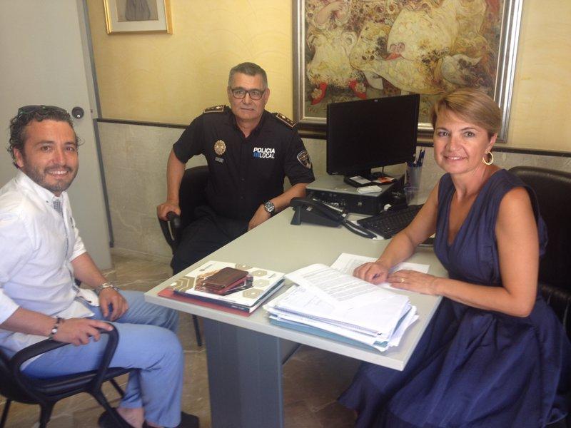 El PP de Palma pide al nuevo jefe de la Policía Local incrementar la presencia de agentes en la ciudad