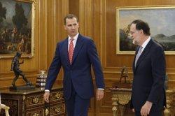 Rajoy accepta l'encàrrec del Rei d'intentar aconseguir suports per a la investidura (TWITTER @CASAREAL)